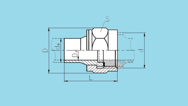 Соединения штуцерно-торцовые накидные встык